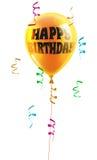 Globo del cumpleaños Fotos de archivo libres de regalías