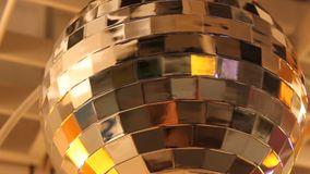 Globo del disco almacen de metraje de vídeo