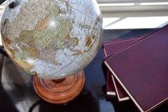 Globo del escritorio del mundo Imagen de archivo libre de regalías