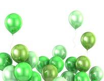 globo del helio del color 3d Foto de archivo