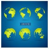 Globo del mondo, illustrazione Immagini Stock Libere da Diritti