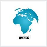 Globo del mondo, illustrazione Immagine Stock
