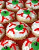 Globo del ojo Sugar Cookies Fotos de archivo