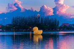 Globo del pato Foto de archivo libre de regalías