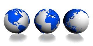 Globo del pianeta della terra Illustrazione di Stock