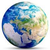 Globo del pianeta Terra Immagini Stock