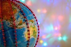 Globo del ` s del Año Nuevo Imagen de archivo libre de regalías