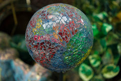 Globo del vidrio del jardín Fotografía de archivo libre de regalías