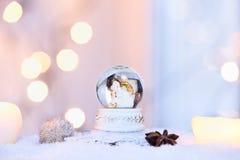Globo della neve Fotografia Stock