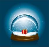 Globo della neve di Natale Immagine Stock