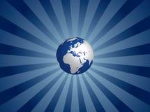 Globo della terra Fotografia Stock