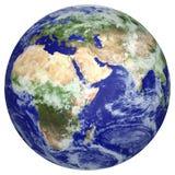 Globo della terra Fotografie Stock Libere da Diritti