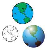 Globo della terra Immagini Stock