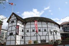 Globo dello Shakespeare a Londra Fotografia Stock