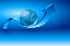 Globo di affari Immagini Stock