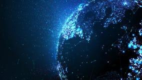 Globo di Digital illustrazione vettoriale
