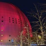 Globo di Ericsson, Stoccolma fotografia stock libera da diritti