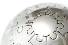 Globo di puzzle Immagini Stock Libere da Diritti