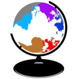 globo do molde para logotipos ilustração do vetor