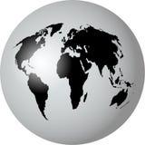 Globo do mundo ilustração stock
