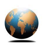 Globo do mundo Imagem de Stock