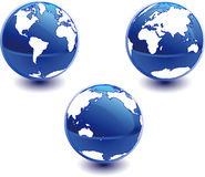 Globo do mundo. Imagem de Stock Royalty Free