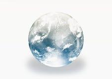 Globo do mundo da terra Imagens de Stock Royalty Free