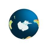 Globo do mundo Terra do planeta ilustração royalty free