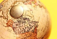 Globo do vintage imagens de stock