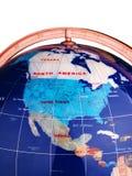 Globo dos E.U. fotos de stock