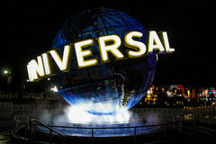 Globo dos estúdios universais, Orlando, FL Fotos de Stock Royalty Free