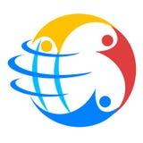 Globo dos povos Imagem de Stock Royalty Free