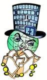 Globo e dinheiro Imagens de Stock Royalty Free