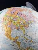 Globo educativo del mundo Imagen de archivo libre de regalías
