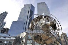 Globo em Columbus Circle - Manhattan - New York Imagem de Stock Royalty Free