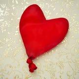Globo en forma de corazón Fotos de archivo libres de regalías