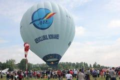 Globo en la demostración aviatic Fotos de archivo