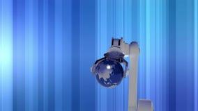 Globo en mano del robot