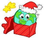 Globo feliz de Navidad Imagenes de archivo