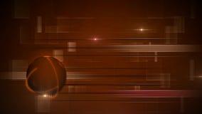 Globo giratorio con las líneas abstractas libre illustration