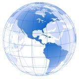Globo gráfico 3d Imagenes de archivo