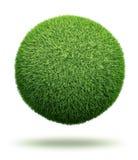 Globo hecho de hierba Foto de archivo libre de regalías