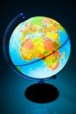 Globo iluminado imagem de stock royalty free