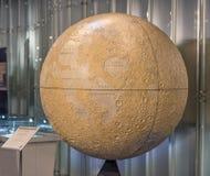 Globo lunar Imágenes de archivo libres de regalías