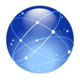globo messo in gabbia lucido Fotografie Stock Libere da Diritti