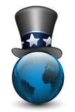Globo nel cappello Illustrazione di vettore Fotografia Stock Libera da Diritti
