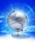 Globo Norteamérica del cielo ilustración del vector