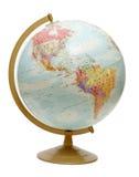 Globo nos Americas imagem de stock royalty free