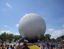 Globo Orlando Florida de Epcot Imagem de Stock Royalty Free