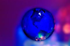 Globo que brilla intensamente Fotografía de archivo libre de regalías